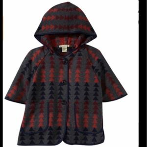 Anthem Of the Ants Blanket Poncho  Gray 3T